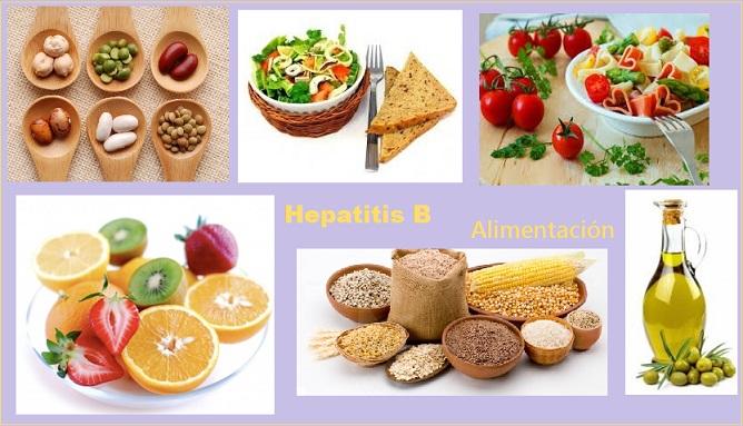 alimentos para dieta de hepatitis b