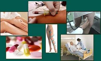 Los métodos de la diagnosis varikozno de las venas extendidas